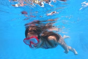 snorklling swimming lessons